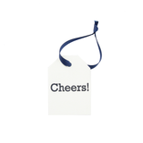 "Hang Tags - Cream ""Cheers!"" (Qty 4)"