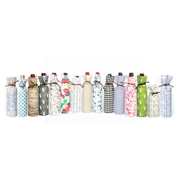 BEST VALUE: Bottle Wraps - Seasonal Assorted (Qty 48)