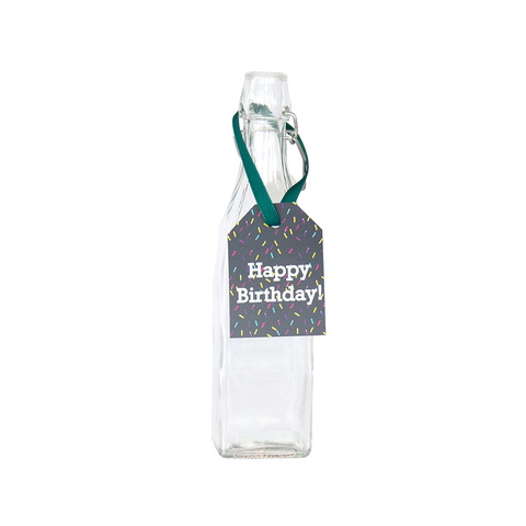 "Hang Tags - Sprinkles ""Happy Birthday!"" (Qty 4)"