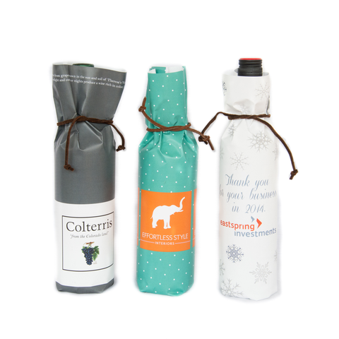 Bottle Wraps - Custom (Qty 25)