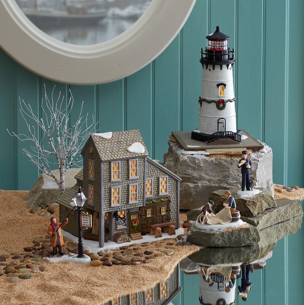 All good things must come to an end... Department 56 announces the Village Retirement of it's New England Series