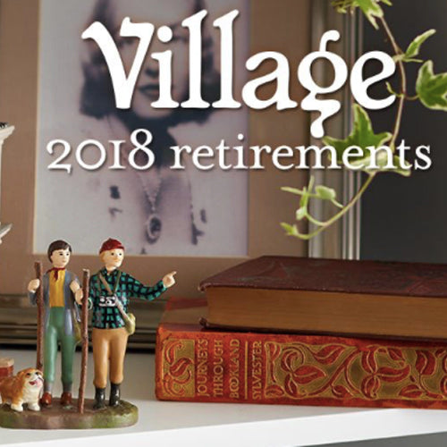 The 2018 Department 56 Village Retirement Announcement
