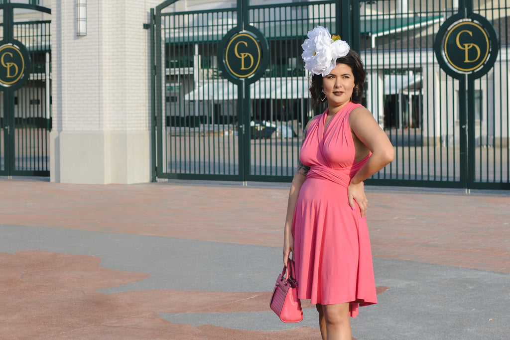 Infinity dress at churchill downs louisville kentucky