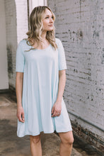 Load image into Gallery viewer, Jennifer Dress -- Seafoam