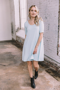 Jennifer Dress -- Seafoam
