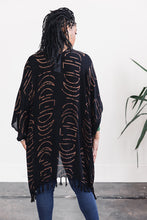 Load image into Gallery viewer, Kimono -- Black Moon Phase