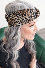 Load image into Gallery viewer, Turban Headband -- Leopard