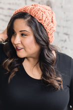 Load image into Gallery viewer, Hand-Knit Hat -- Orange