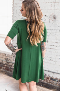 Jennifer Dress -- Cactus