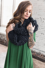 Load image into Gallery viewer, Infinity Scarf -- Grey