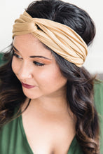 Load image into Gallery viewer, Turban Headband -- Sand