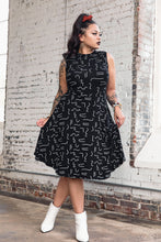 Load image into Gallery viewer, Stella Dress -- Modern Memphis Print
