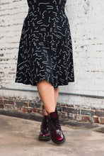 Load image into Gallery viewer, Adrienne Dress -- Modern Memphis Print