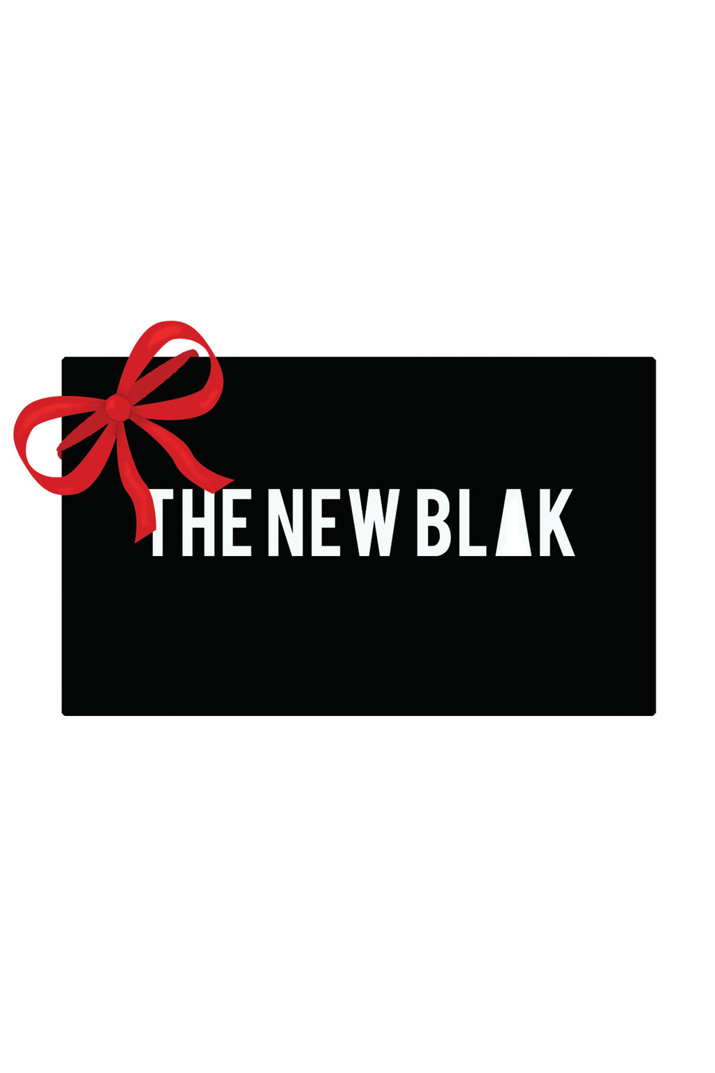 The New Blak gift card