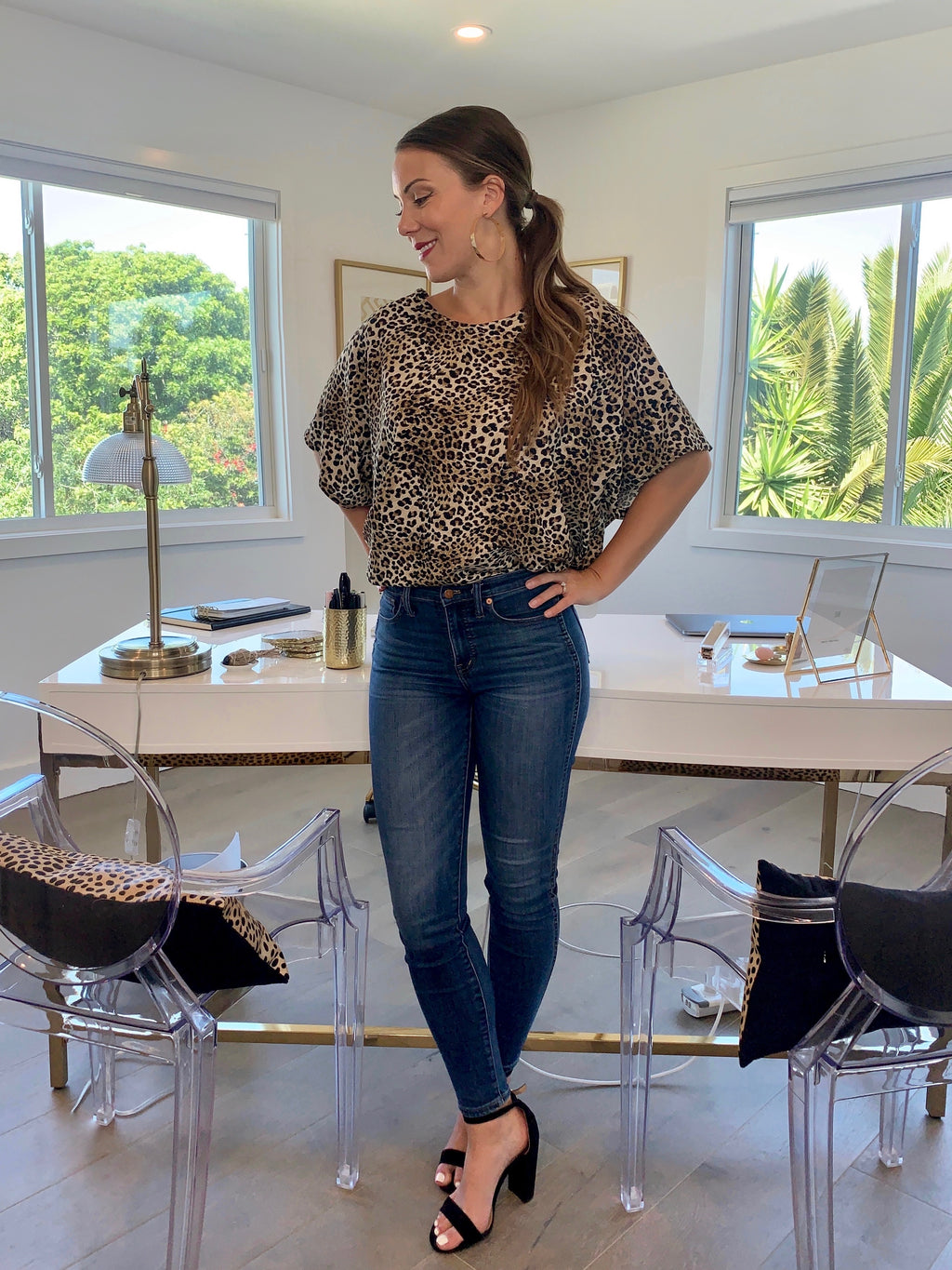 Carrie Top -- Leopard