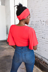 Shirley Top -- Red