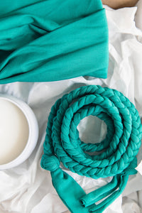 Braided Belt -- Jade