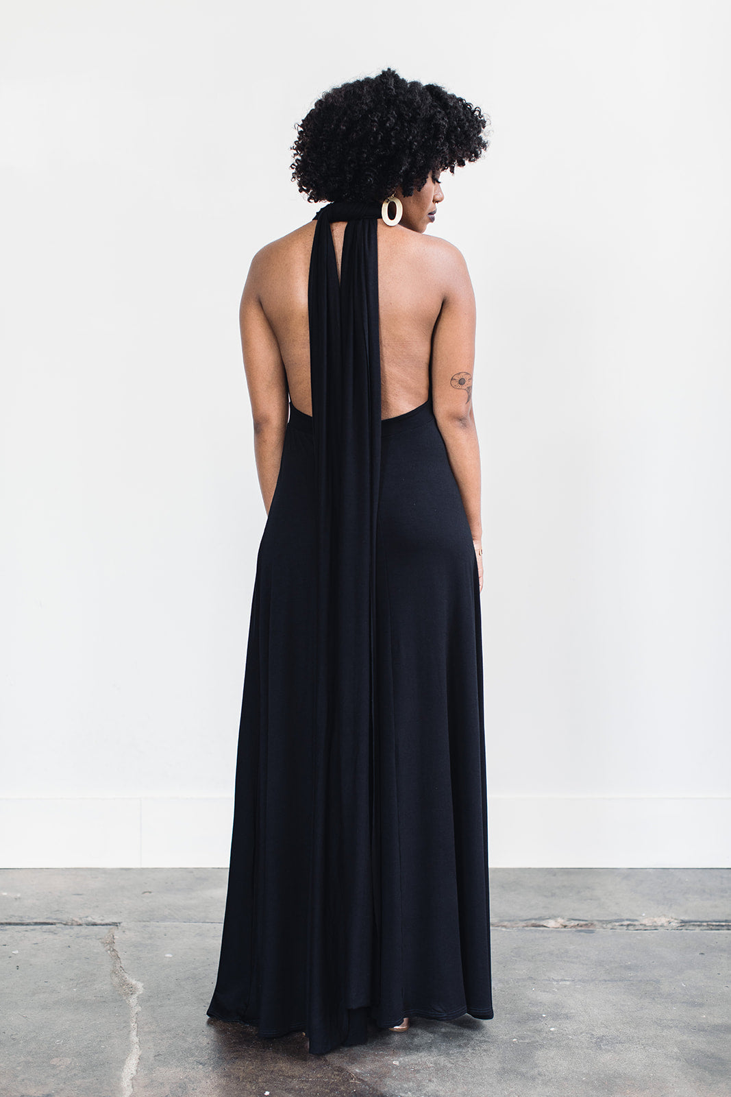 Ethically made evening gown