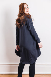 Penelope Duster -- Charcoal Grey