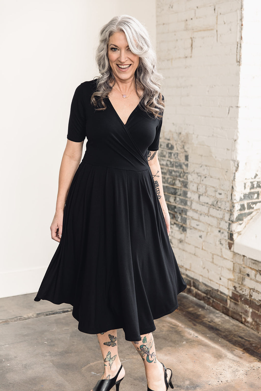 Grace Dress -- Black