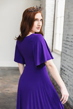 Load image into Gallery viewer, Shirley Dress -- Royal Purple