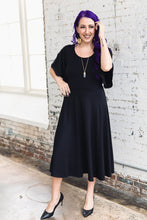Load image into Gallery viewer, Shirley Dress -- Black