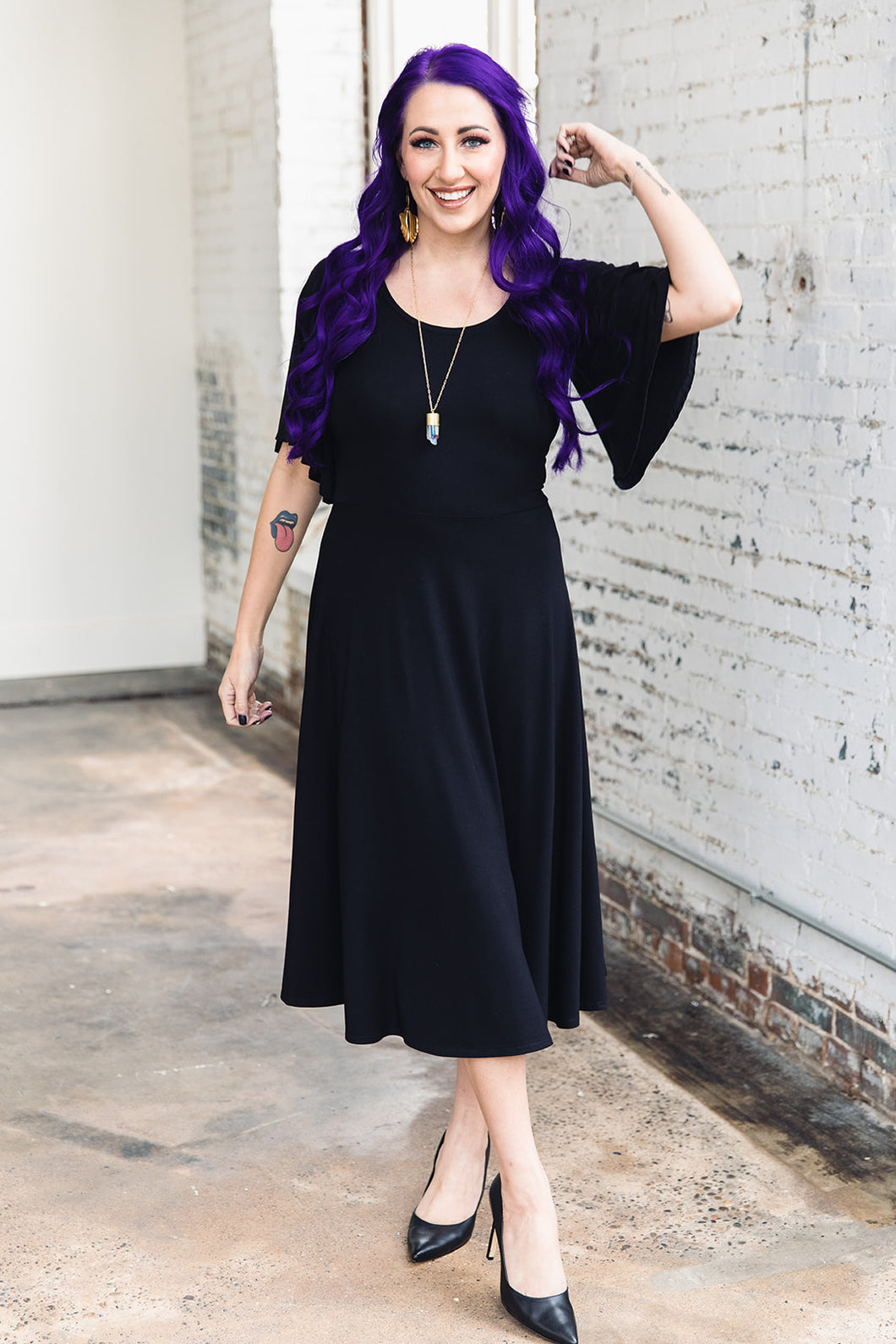 Shirley Dress -- Black