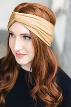 Load image into Gallery viewer, Turban Headband --Gold