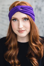 Load image into Gallery viewer, Turban Headband -- Royal Purple