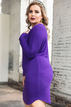 Load image into Gallery viewer, Penelope Dress -- Royal Purple