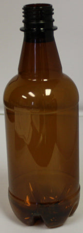 Beer Bottles PET Amber 1 liter
