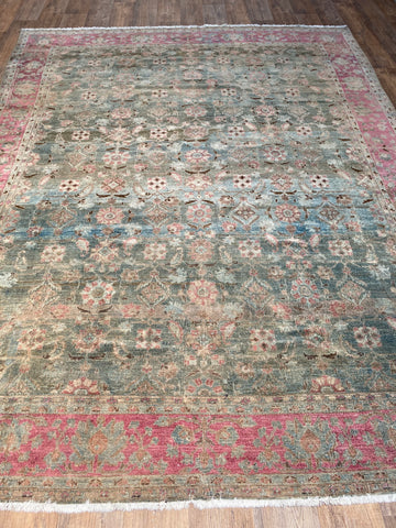 "Antique Tabriz - 9'8"" x 12'9"""