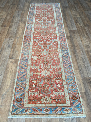 "Antique Tabriz - 9'1"" x 12'2"""