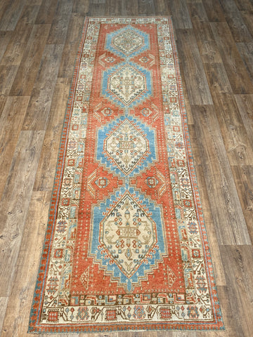 "4'8"" x 9'5"" Antique Khotan"