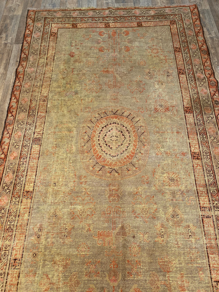 "5'8"" x 10'7"" Antique Khotan"