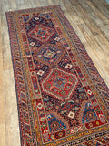 Antique NW Persian Runner - 4' x 11'