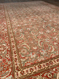 Antique Tabriz - 6'7