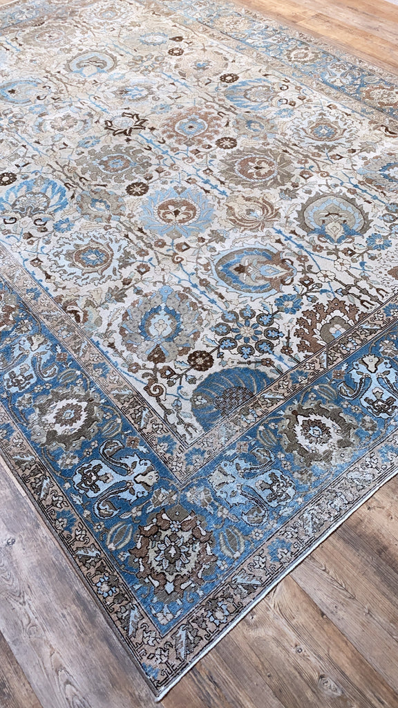"Antique Tabriz - 8'4"" x 11'8"""