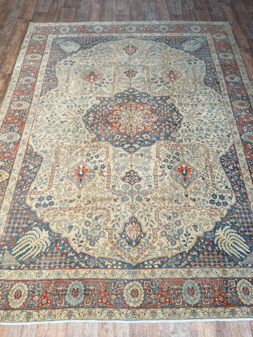 "Antique Malayer - 4'4"" x 7'6"""
