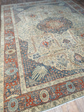 Antique Tabriz - 9'1