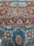 Antique Tabriz - 9' x 12'4
