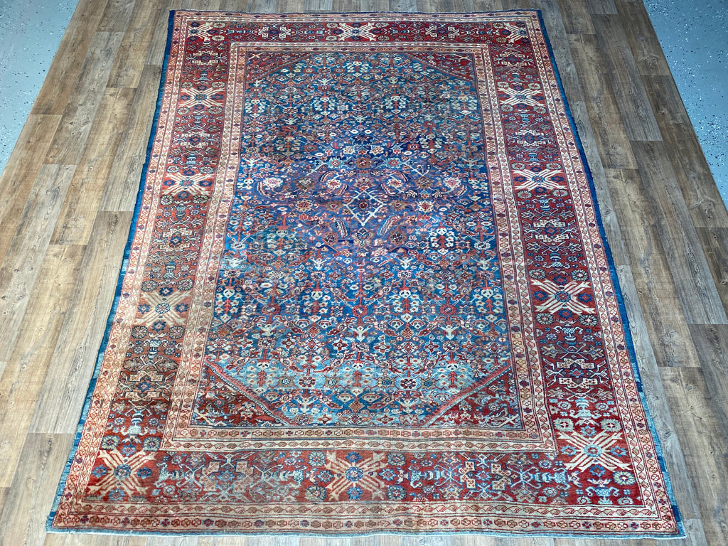 "Antique Sultanabad - 8'4"" x 11'1"""