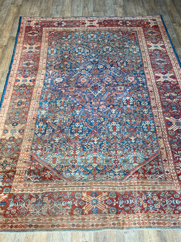 "Antique Malayer - 4'2"" x 6'1"""