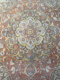 Antique Tabriz - 9'9'' x 12'6