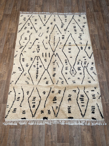 Vintage Moroccan Azilal - 5 x 9'2''
