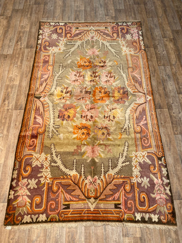 "Antique Heriz - 9'4"" x 11'9"""