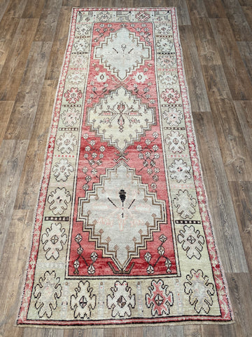 "Antique NW Persian Runner - 3'2"" x 16'"