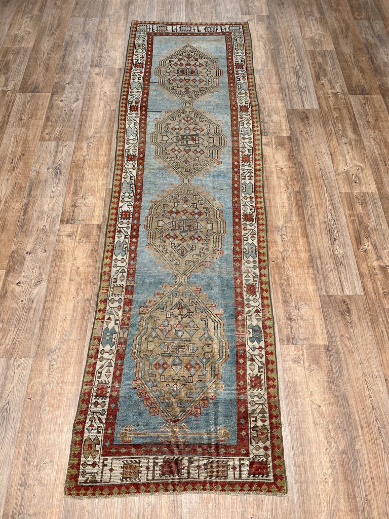 "Antique Serab Runner - 2'7"" x 9'3"""