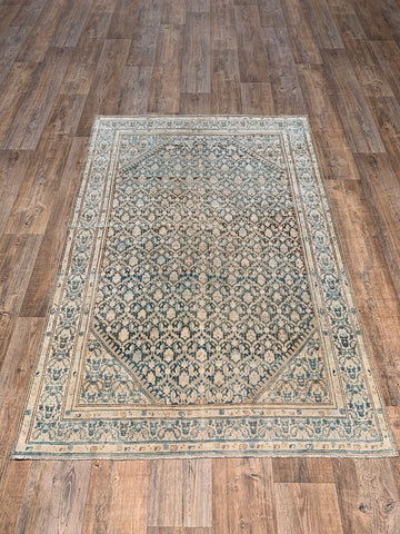 "2'10""x11'3"" Rare Antique Persian Tabriz Runner"