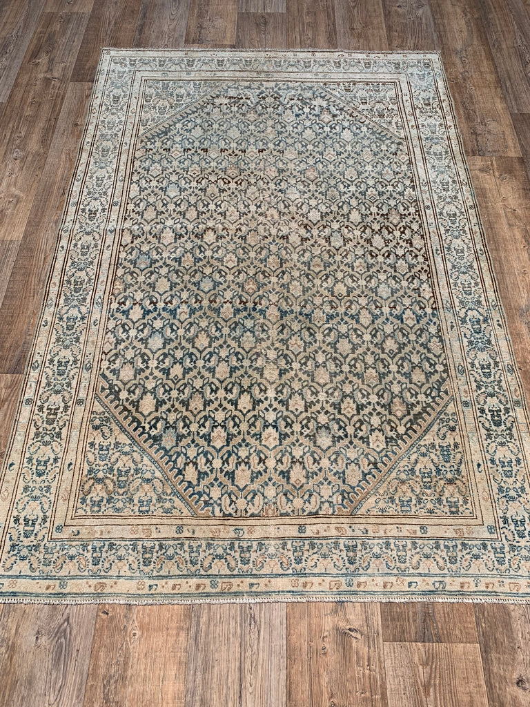 "6'5"" x 4'3"" Antique Persian Malayer"